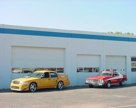 Another view of the Mustang Restoration shop
